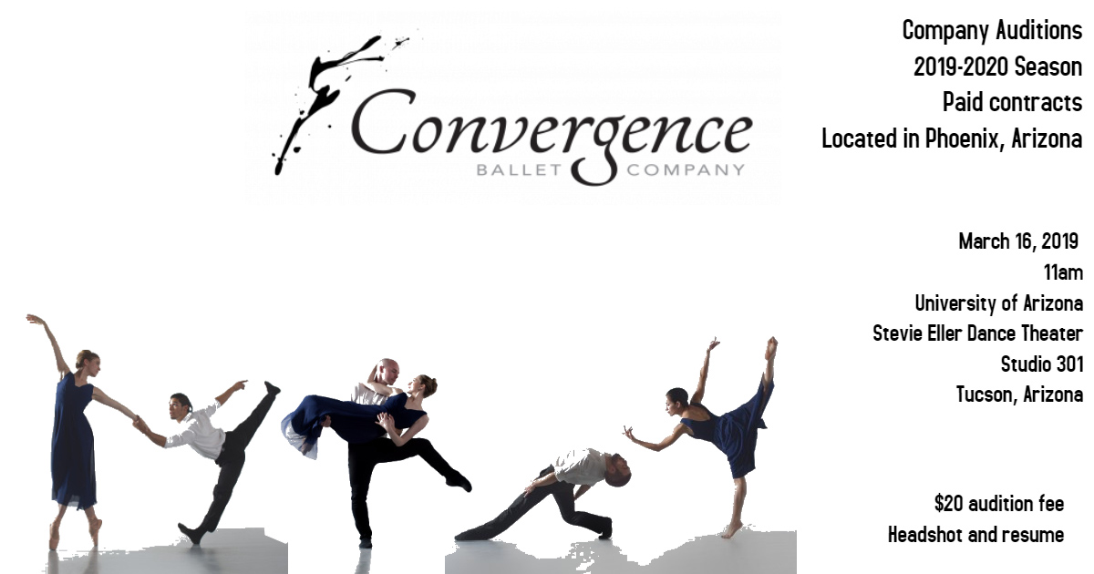2019-2020 Company Auditions